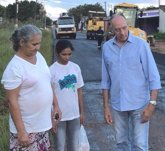Prefeitura leva asfalto ao Jardim dos Estados